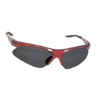 Diamondback Red Frame Shade Lens Safety Glasses