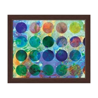 Artist Palette Framed Graphic Art