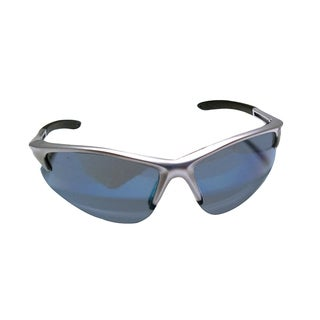 Db2 Silver Safety Glasses with Ice Blue Lens