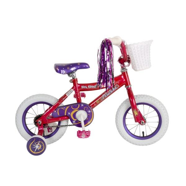 Piranha Bitsy Kitsy Kids' Bike, 12 inch wheels, 9 inch frame, Girls' Bike, Pink