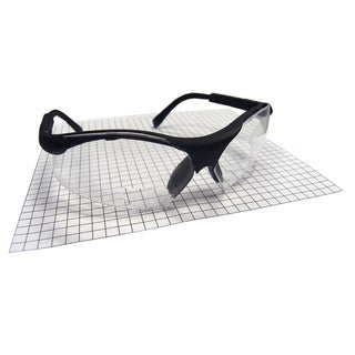 Sidewinder Black Safety Glasses with 2.5 Reader Lens