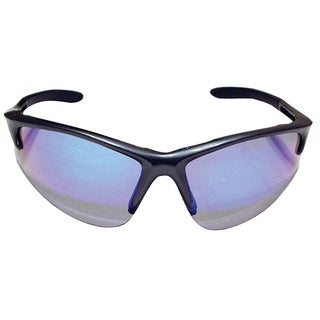 Db2 Charcoal Safety Glasses with Purple Haze Lens