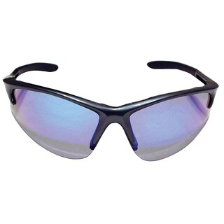 Db2 Clamshell-style Charcoal Frame and Purple Haze Lens Safety Glasses