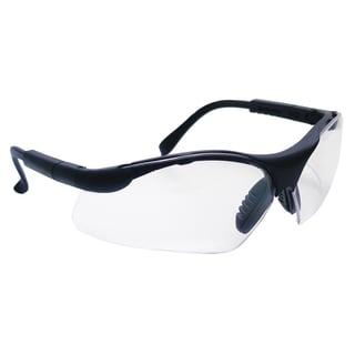 Sidewinder Black/Clear Safety Glasses