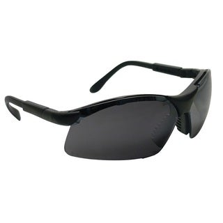 SAS Safety Sidewinder Safety Glasses With Black Shade Lenses