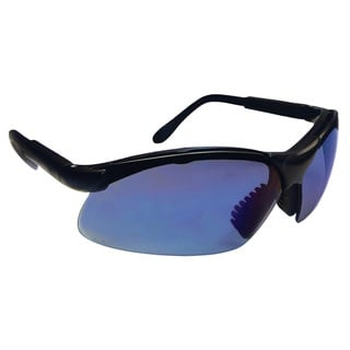 SAS Safety Blue Mirror Lens Sidewinder Glasses