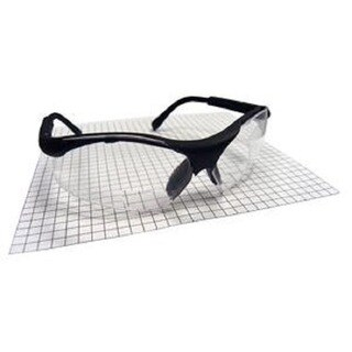 SAS Safety Sidewinder Black 1.5x Magnifying Safety Glasses