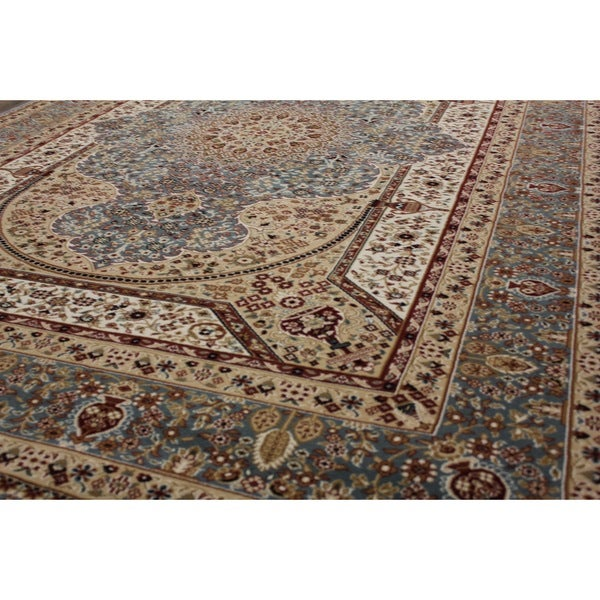 Blue Shiraz Persian Area Rug (8' x 11')