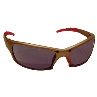 GTR Gold Frame and Shade Lens Safety Glasses