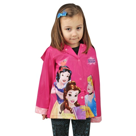 Disney Princess Girl's Pink Raincoat (Toddler / Little Kids)