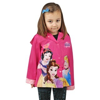 Disney Princess Girl's Pink Raincoat (Toddler / Little Kids)