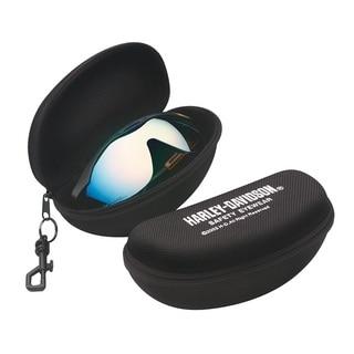 Harley Davidson Zipper Eyewear Case with HD Logo