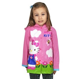 Sanrio Girl's Hello Kitty Pink Raincoat