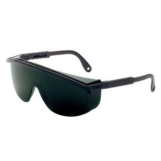 Uvex Astrospec Black Frame Safety Glasses with 5.0 Shade Lenses
