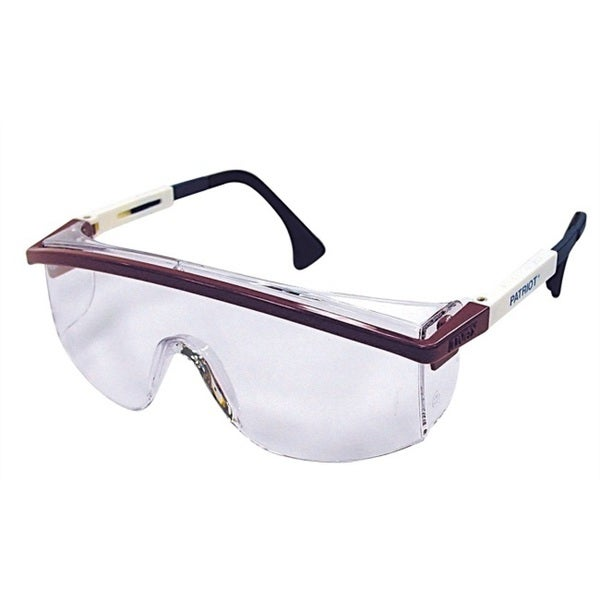 5d0f6e750e Shop Patriot Clear Safety Glasses - Free Shipping On Orders Over  45 -  Overstock.com - 12194256