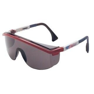 Grey Patriot-themed Safety Glasses
