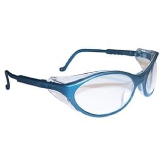 Bandit Slate Blue with Clear UD Lenses Safety Glasses
