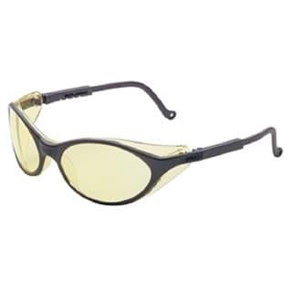 Bandit Slate Blue Safety Glasses with Amber Lens