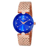 Oniss Facet II ON8777 Stainless Steel Crystal Ladies Watch