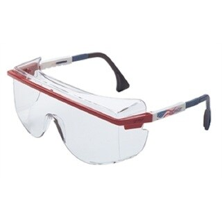 Uvex Over-the-glass Safety Glasses with Patriot Frames and Clear Lenses