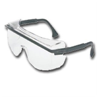 Safety Glasses Over Patriot and Gray