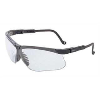 Genesis Clear Lens/Black Frame Anti-fog Safety Glasses