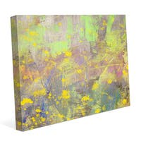 Blossoming Spring Graphic on Canvas