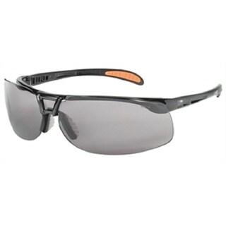 Protege Safety Eyewear Black Frame Grey Lens