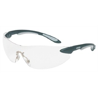Uvex Ignite Safety Eyewear-clear Lens Black and Silver Frame