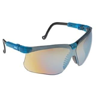 Genesis Blue Frame Mirror Lens Glasses