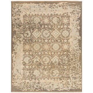 Hand Knotted Pan Wool/Cotton Rug (9' x 13')