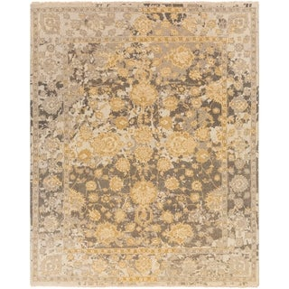 Hand Knotted Parkmoor Wool/Cotton Rug (9' x 13')