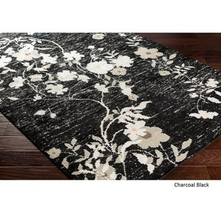 Hand Knotted Internacional Recycled Silk/Cotton Rug (9' x 13')