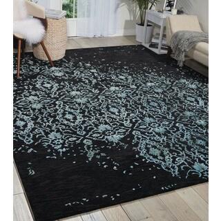 Nourison Opaline Midnight Blue Area Rug (9'9 x 13'9)