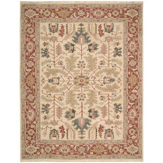 Nourison Nourmak Light Gold Area Rug (12' x 18')