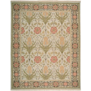 Nourison Nourmak Light Green Area Rug (12' x 18')