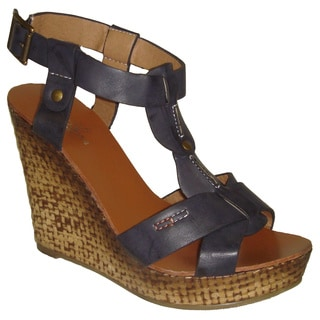 Cala Navy Wedge (China)