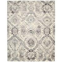 Nourison Twilight Ivory/Grey Area Rug (12' x 15') - 12' x 15'