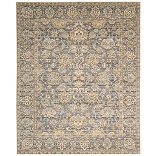 Nourison Timeless Opal/Grey Area Rug (12' x 15')