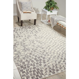 Nourison Twilight Cream Area Rug (12' x 15')