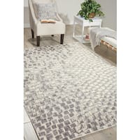 Nourison Twilight Cream Area Rug (12' x 15') - 12' x 15'