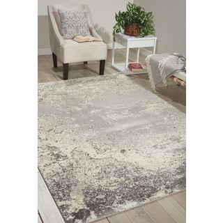 Nourison Twilight Bone Area Rug (12' x 15')