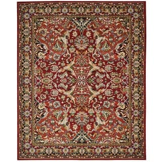 Nourison Timeless Red Area Rug (12' x 15')|https://ak1.ostkcdn.com/images/products/12194590/P19042934.jpg?impolicy=medium