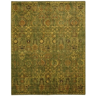 Nourison Timeless Green/Gold Area Rug (12' x 15')