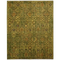 Nourison Timeless Green/Gold Area Rug (12' x 15') - 12' x 15'