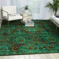Nourison Timeless Turquoise Area Rug - 12' x 15'