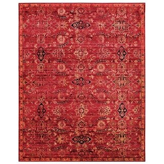Nourison Timeless Red Area Rug (12' x 15')