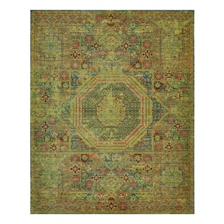 Nourison Timeless Teal Area Rug (12' x 15')