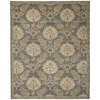 Nourison Silk Elements Graphite Area Rug (12' x 15')