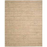 Nourison Silk Elements Sand Area Rug (12' x 15') - 12' x 15'